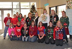 """Ugly Sweater Day"" for Save the Children"